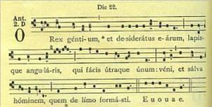 O Antiphons (Rex Gentium)