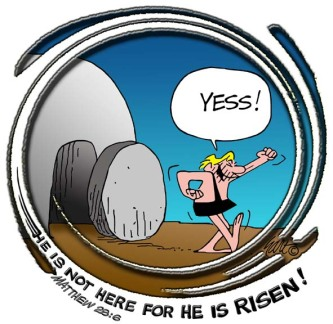 "Christ is Risen ""Yess!"""