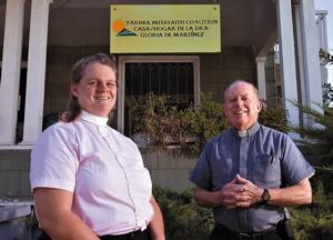Rev Jane & Monsignor Ecker